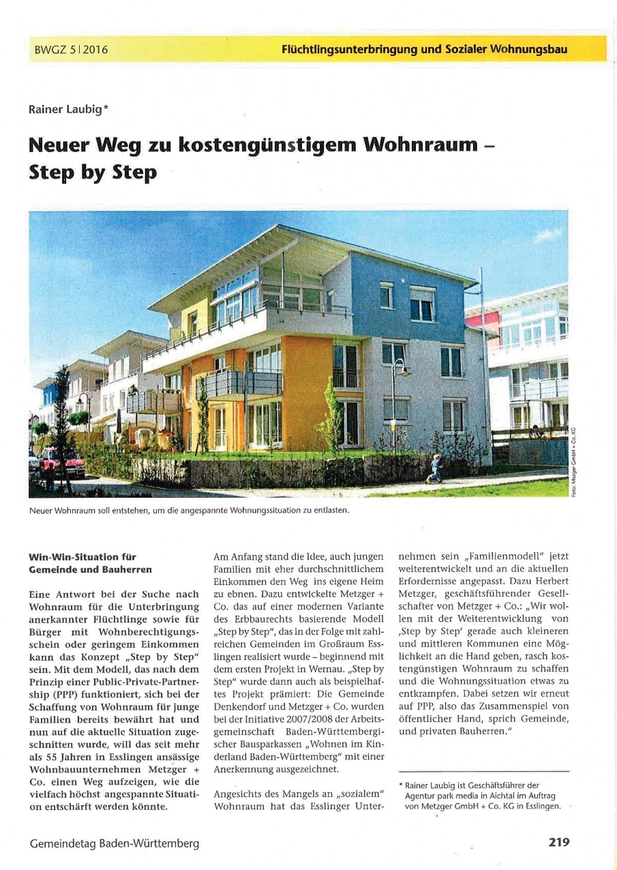 Len Esslingen neuer weg zu kostengünstigem wohnbau by metzger gmbh